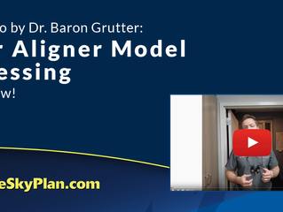 New Video By Dr Baron Grutter: Clear Aligner Model Processing. Watch Now!