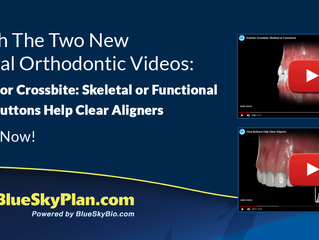Watch The Two New Clinical Orthodontic Videos: - Anterior Crossbite: Skeletal or Functional - How Bu