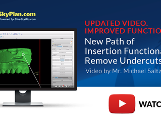 UPDATED VIDEO. IMPROVED FUNCTIONALITY! :New Surgical Guide Path of Insertion Functionality Explained