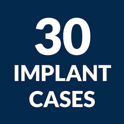 30 Implant Case