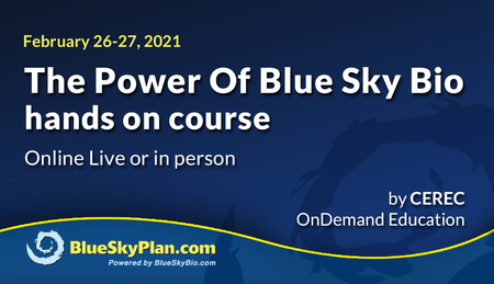 The Power Of Blue Sky Bio - hands on course