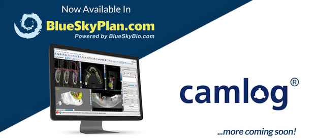 Camlog Implant System Now Available in BlueSkyPlan