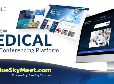 BlueSkyMeet.com Free Medical Video Conferencing Brought To You by BlueSkyBio