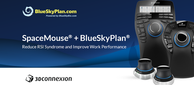 3DConnexion SpaceMouse Now Compatible With BlueSkyPlan.