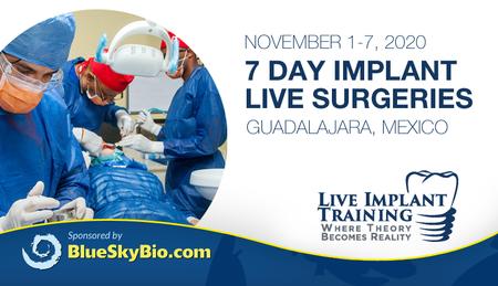 Blue Sky Plan Live Course - 7 Day Live Surgeries
