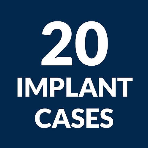 20 Implant Case