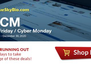 BlueSkyBio BFCM Deals - Limited Time!