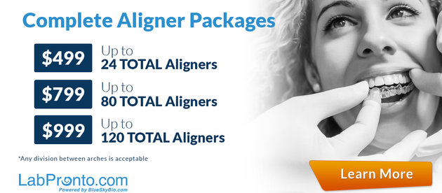 New Pricing for Complete Aligner Packages