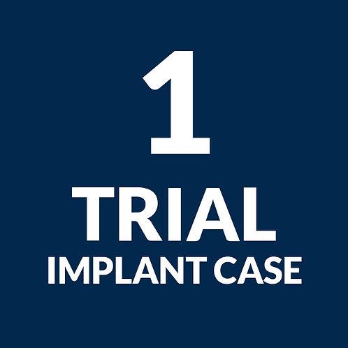 1 Trial Implant Case