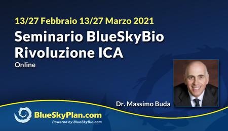 Seminario BlueSkyBio - Rivoluzione ICA
