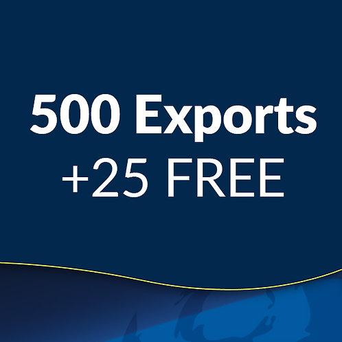 STL Export - 500 Cases + 25 Free