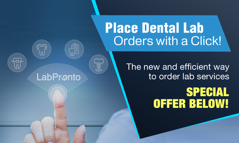 Dental Lab Orders with a Click.