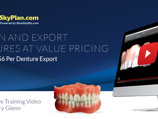 Blue Sky Dentures. Lower Price. More Functionality.