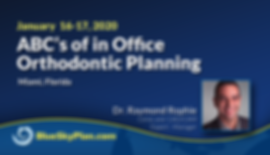 Blue Sky Plan Live Course - ABC's of in Office Orthodontic Planning