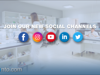 Receive LabPronto.com Updates and Promotions Via Our New Social Channels!