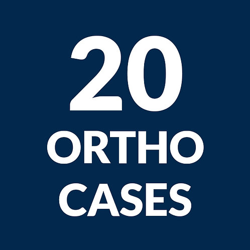 20 Ortho Cases