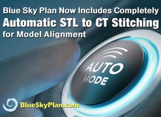 NO CLICK Model to CT Stitching