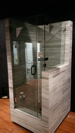 2 Piece Frameless Shower