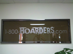 Custom Metal Framed Office Window