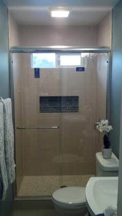 Framed Shower Slider