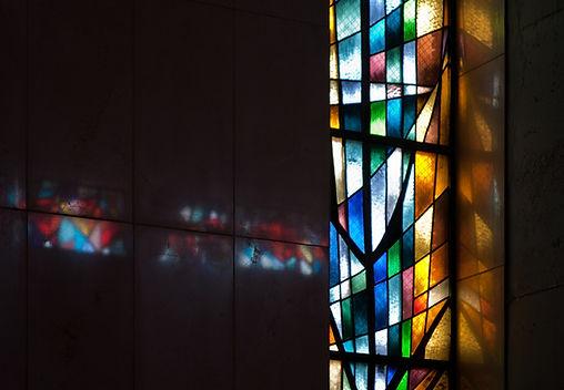 D jerome Garrett Stained Glass Window