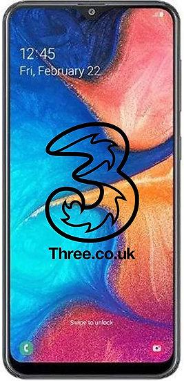 Samsung A20 3 Network Unlock