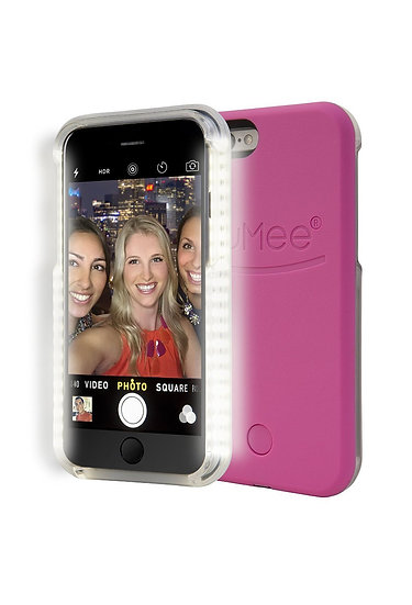 LuMee LED iPhone 6/6s Case Hot-Pink