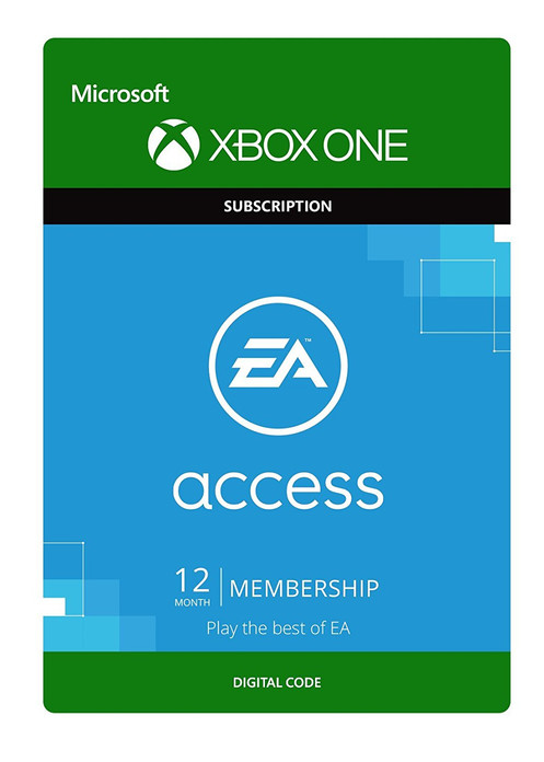 EA Access - 1 Year Membership [Xbox One - Download Code]