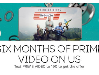 six months of Prime Video For EE customers