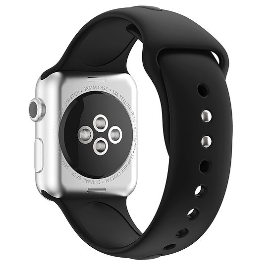 Apple Sport Watch Replacement Strap (Black)