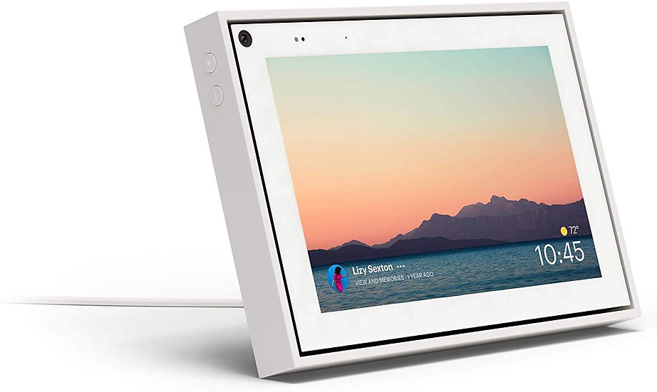 Portal Mini from Facebook with 8 Inch Display - White