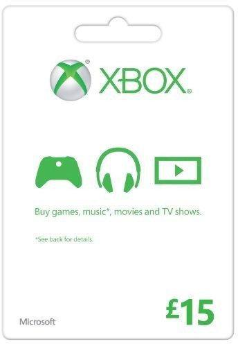 Zoom   Microsoft Gift Card - £15 (Xbox One/360)