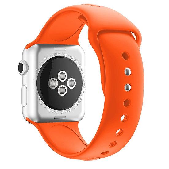 Apple Watch Sport Watch Replacement Strap (Orange)
