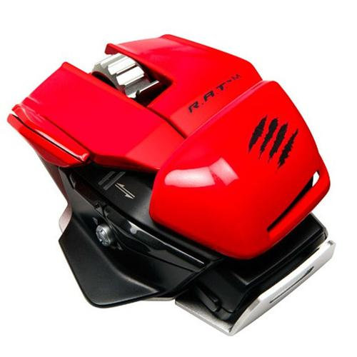 Mad Catz R.A.T.M Wireless Mobile Gaming Mouse (Red)