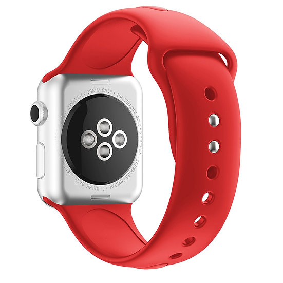 Apple Watch Sport Watch Replacement Strap (Red)