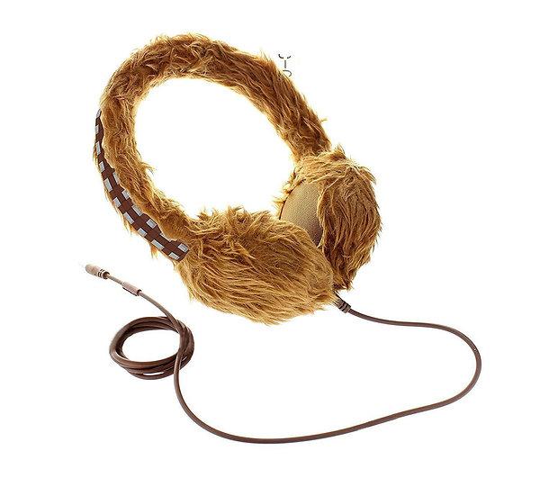 Official Disney Star Wars Chewbacca Wookie Over Ear Kids Headphones Earphones