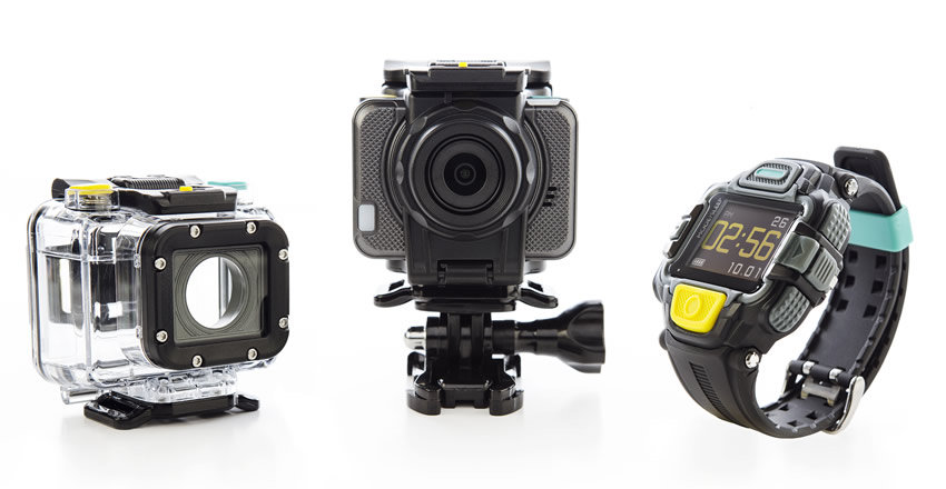 EE HD Action Cam 13MP 4G + View finder watch