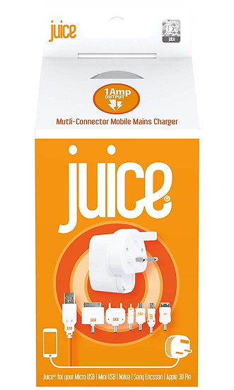 Juice 🥤Multi-Connector Mobile Charger