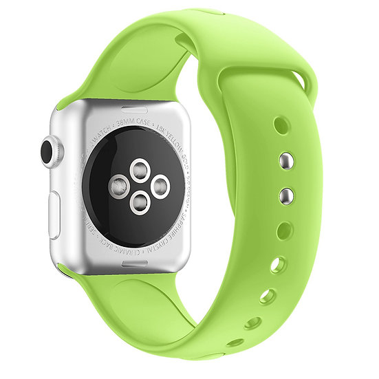 Apple Watch Sport Watch Replacement Strap (Lime Green)