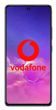 Samsung S10lite Vodafone Unlock