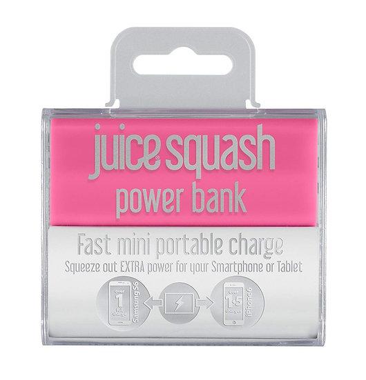 Juice Squash Powerbank Pink 2,800mAh