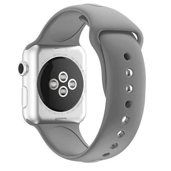 Apple Watch Sport Watch Replacement Strap (Grey)