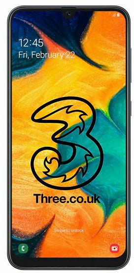 Samsung A30 3 Network Unlock