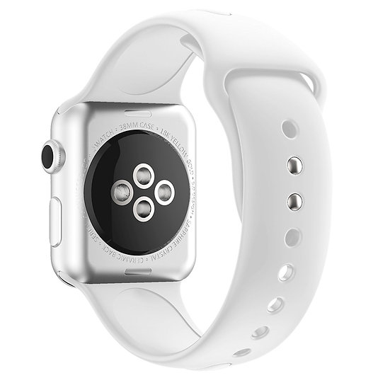 Apple Watch Sport Watch Replacement Strap (White)