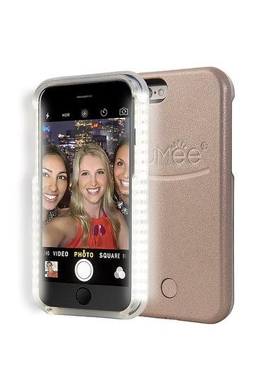 LuMee LED iPhone 6/6s Case - Rose Gold