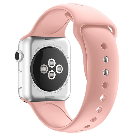 Apple Watch Sport Watch Replacement Strap (Rose Gold)
