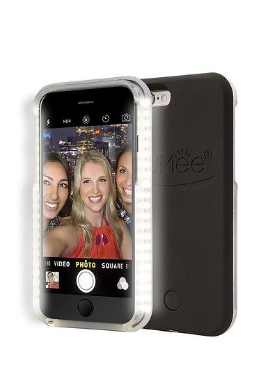 LuMee LED iPhone 6/6s Black