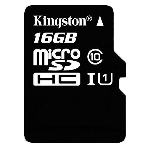 Kingston 16 GB UHS Class 1/Class10 microSDHC