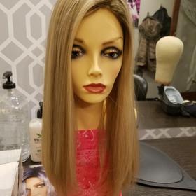 Remi human hair topper