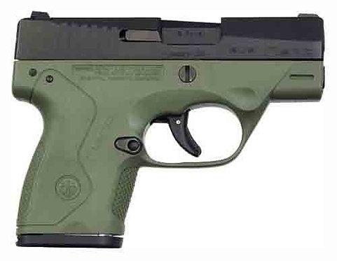 """BERETTA NANO 9MM 3"""" FS 8-SHOT BLACK MATTE/RANGER G"""